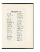 Lijst van de bewerkte plaatsen